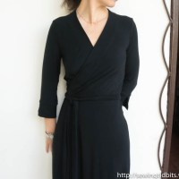 Vogue 8379 - a wrap dress that was not sewed-along