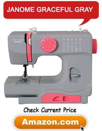 Sewing Machine Janome Graceful Gray