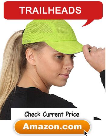 TrailHeads Race Day Performance Running Hat Sport Cap for Women