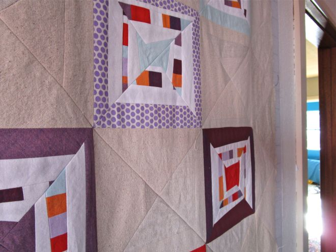 SEW KATIE DID:Psychedelic Baby Blocks Square