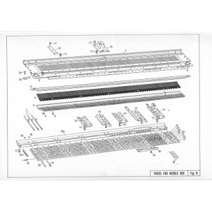 Brother, diagram, parts list, free, KH 840, the yarn guy