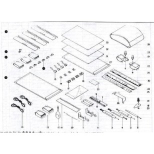 parts diagram, parts lists, free, SK360, silver-reed, the