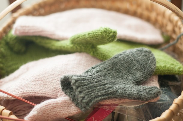 Sew.Knit.Create my mitten basket