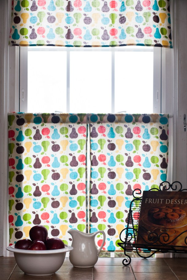 Retro Kitchen Curtains