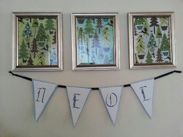 Sew.Knit.Create framed fabric