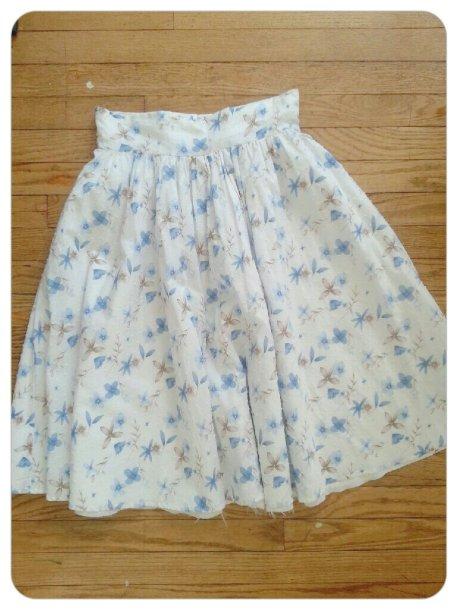 Swiss Cotton Skirt