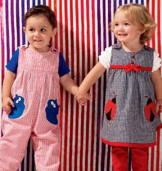 overalls from Kwik Sew