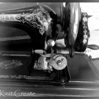 An Antique Sewing Machine: A tribute to my mother