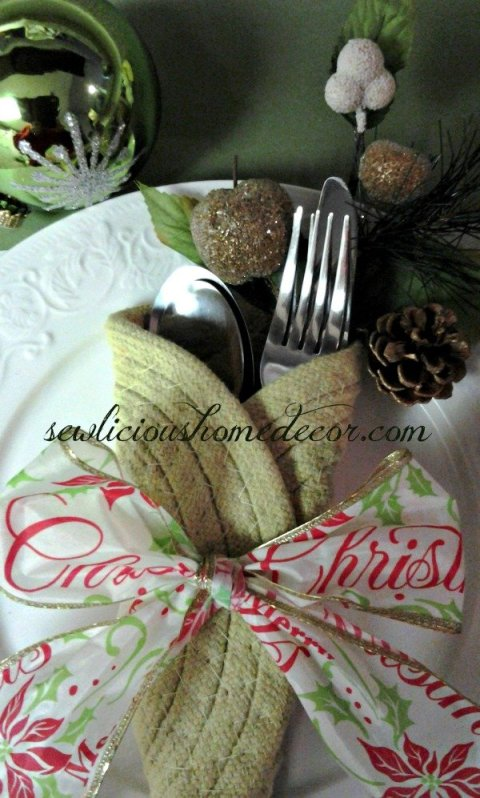 Potholder tablesetting