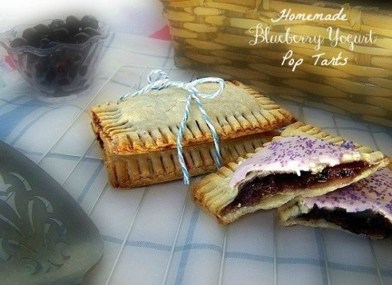 Yogurt Blueberry Preserves Pop Tarts sewlicioushomedecor