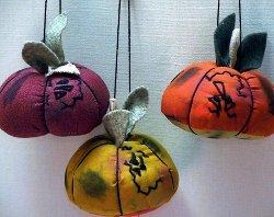 halloween colorful-pumpkin-ornament