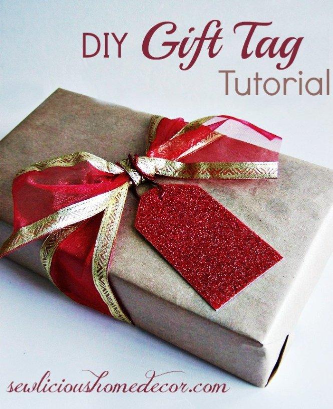 DIY Gift Tag Tutorial