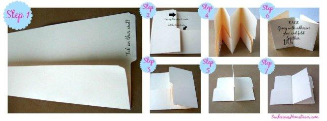 Pocket Folder Organizer Collage