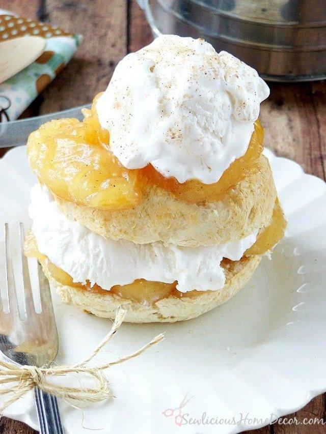 Try this Bisquick Apple Pie Shortcake Dessert