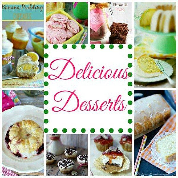 A Big list of Delicious Desserts at sewlicioushomedecor.com