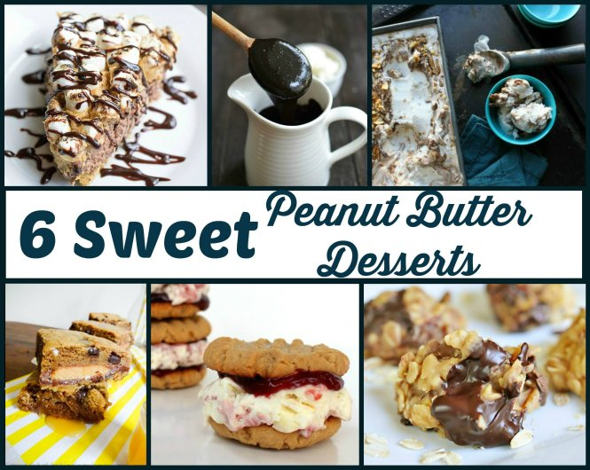 peanut butter desserts features