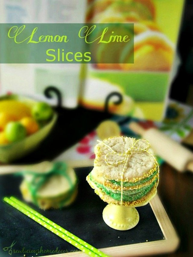 Both Lemon Lime Slices Cookies by sewlicioushomedecor