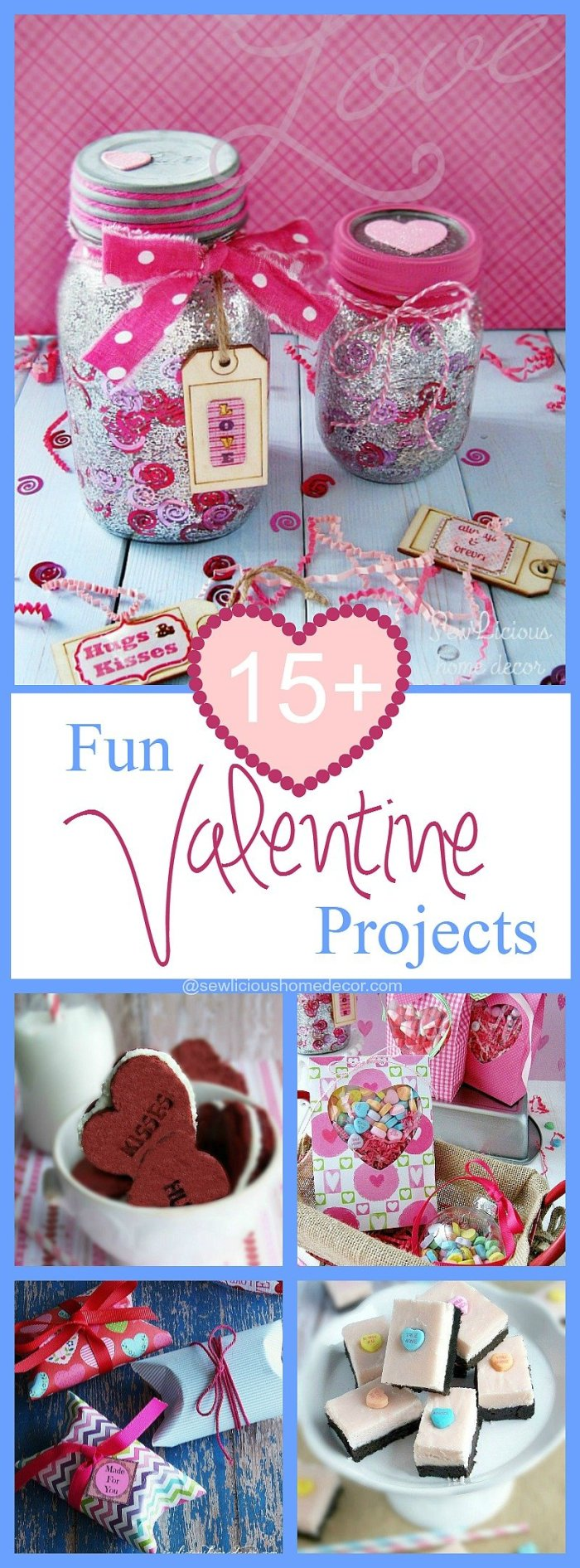 15 Fun And Easy Sewing Projects For Kids: 15 Fun Valentine Craft Projects To Make