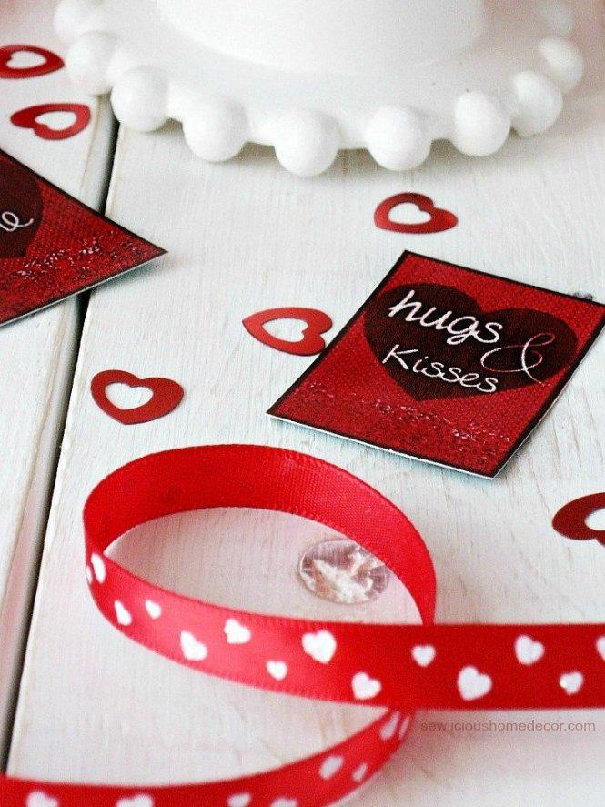 DIY Valentine Gift Tags sewlicioushomedecor.com