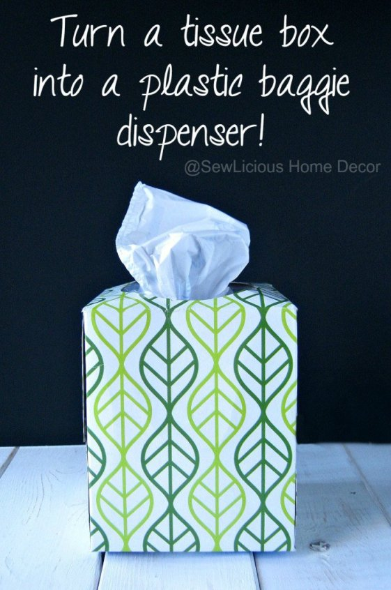 Turn-a-pretty-tissue-box-into-a-plastic-baggie-dispenser-sewlicioushomedecor.com_