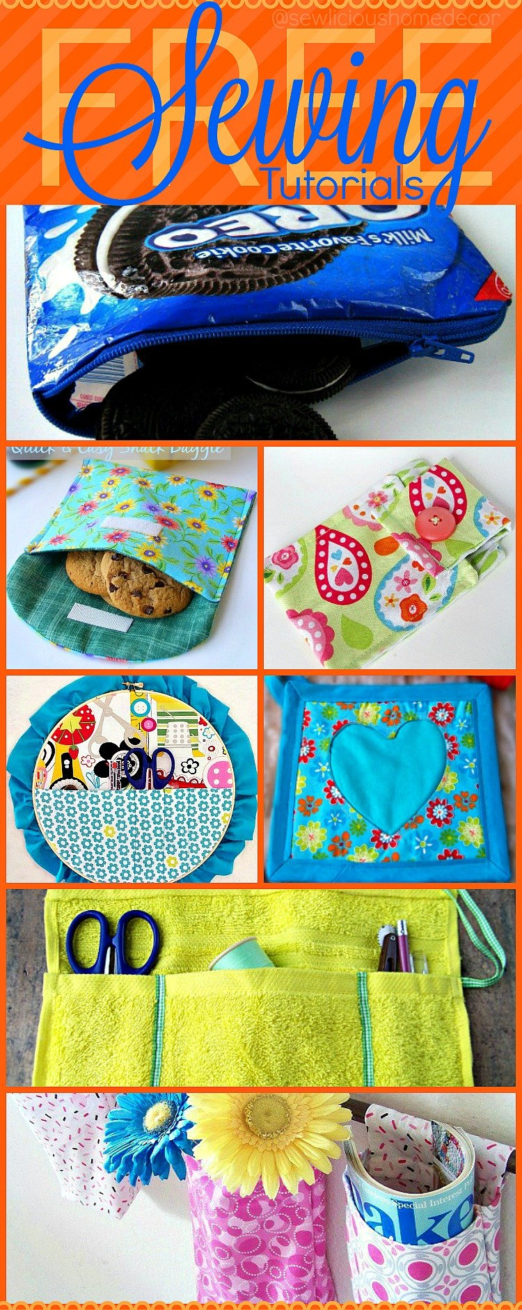 Over 25 Easy Sewing Projects For Beginners Or Advanced