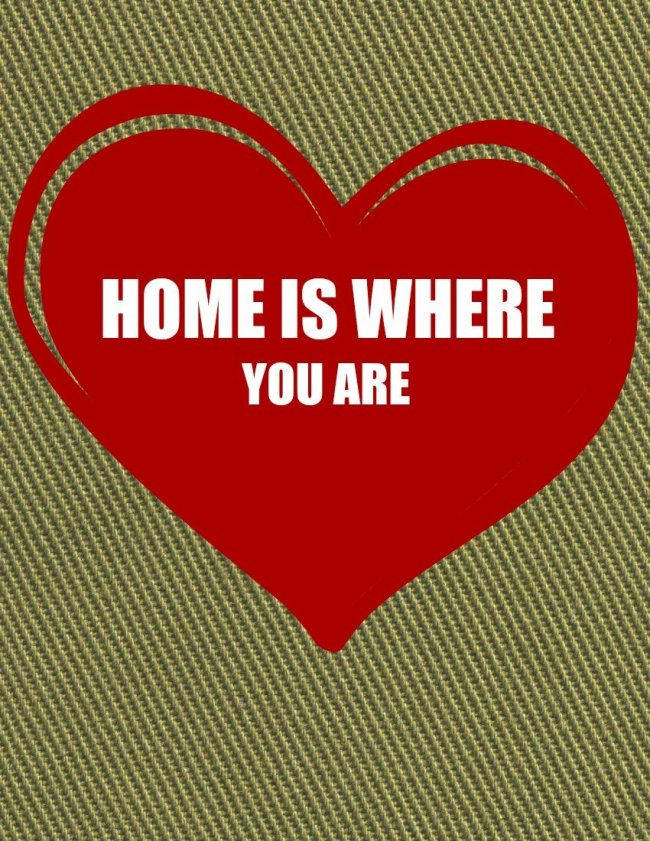 Home Is Where You Are Valentine Heart Free Printabe sewlicioushomedecor.com