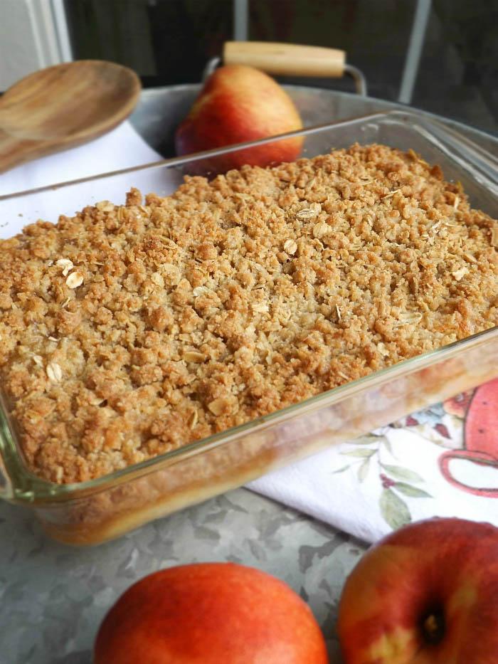 Peach Crisp With Butter Pecan Cake Mix