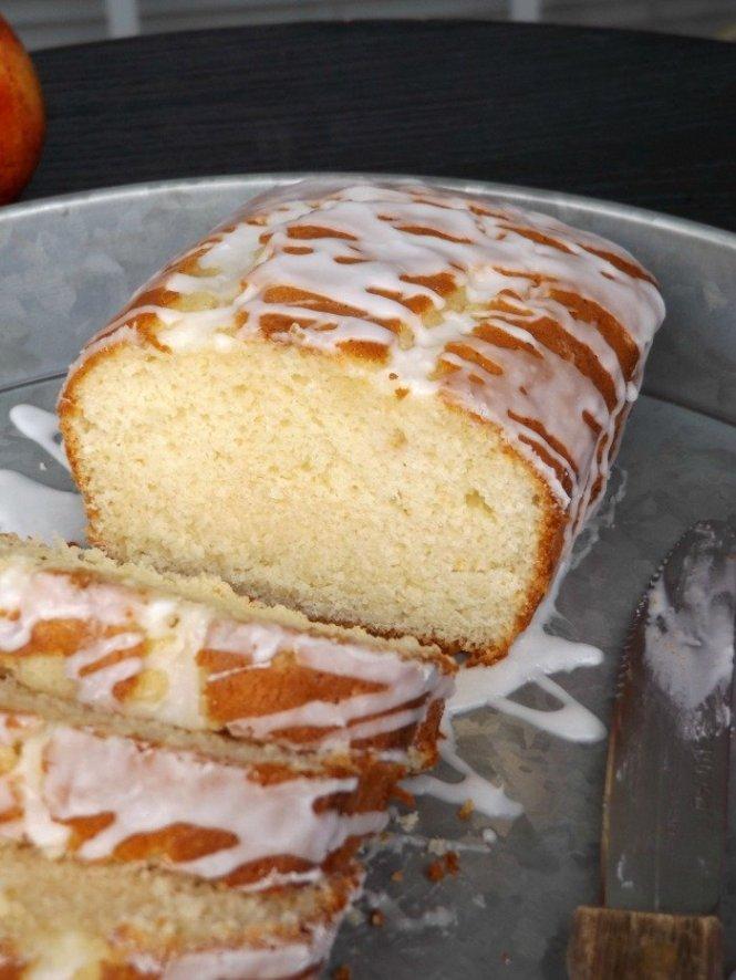 Peach Yogurt Pound Cake sewlicioushomedecor