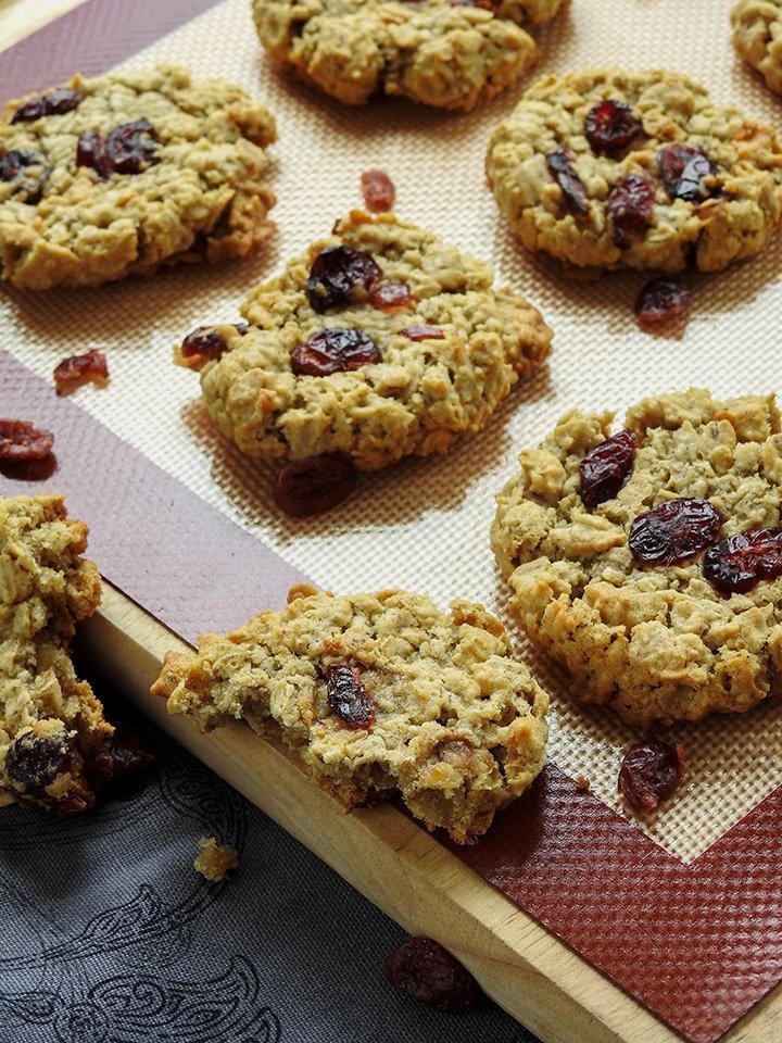 Cranberry Oatmeal Cookies sewlicioushomedecor.com