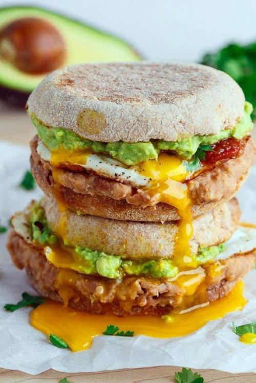 Huevos-Rancheros-Sandwich