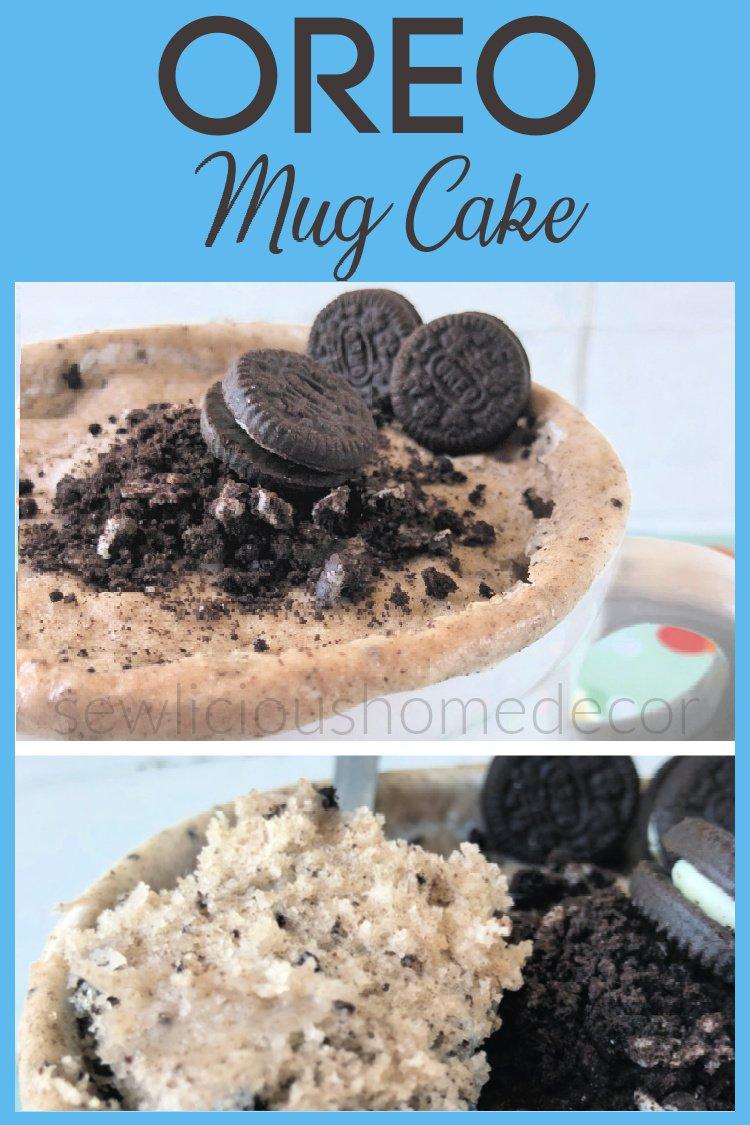 oreo mug cake recipe eggless