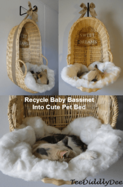 bassinet cat bed