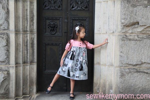 Sew Like My Mom | Olivia Dress