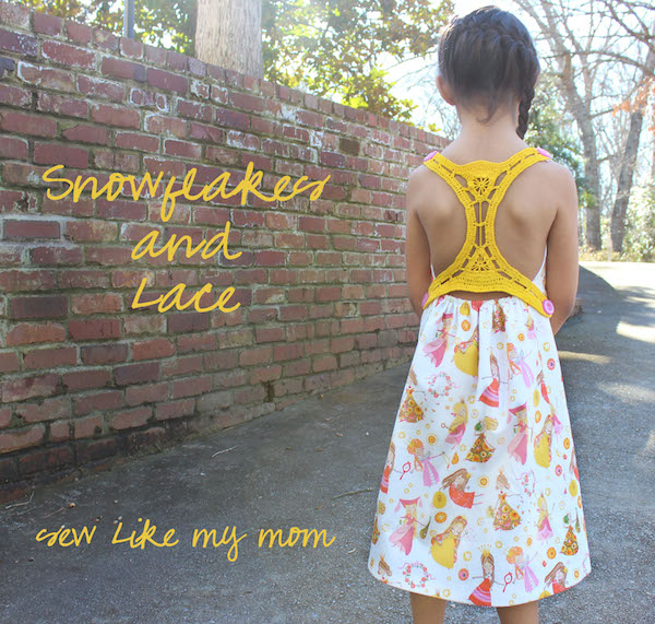 Sew Like My Mom | Snowflakes and Lace series