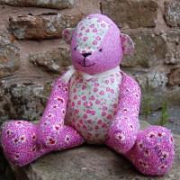 FREE McCalls Pattern: Patchwork Teddy Bear
