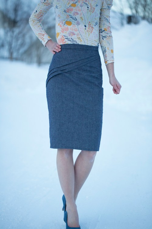 Camellia Skirt Sew Mariefleur Magdalena Langa