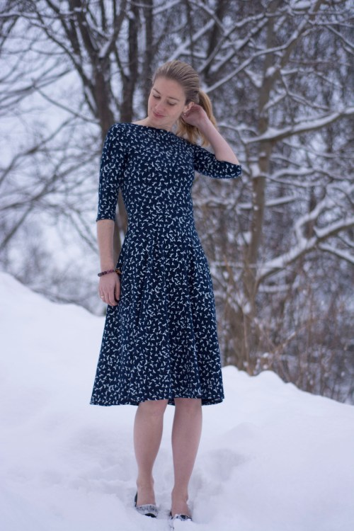Sew Mariefleur Asta Dress Wardrobe By Me