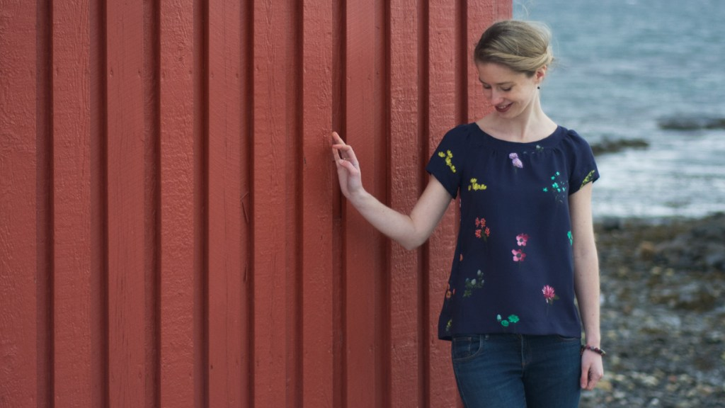 Sew Mariefleur Fancy Tiger Crafts Sailor Top