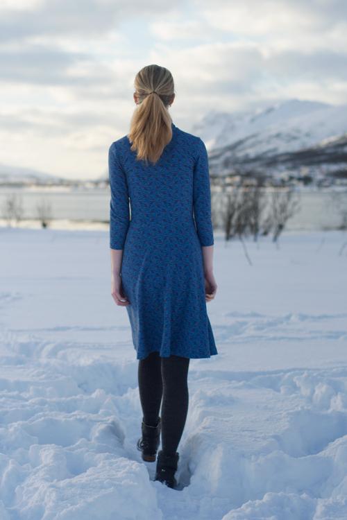 Sew Mariefleur Asta Dress Lila-Lotta