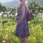 Sew Mariefleur Lila-Lotta Lil Luxe Mingo and Grace Dress