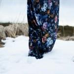 Sew Mariefleur Matenrity Velvet Dress