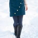 Sew Mariefleur Hello Heidi Nita Wrap Skirt Sew DIY