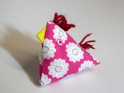 Pink Chick pin cushion