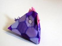 Purple Chick pin cushion