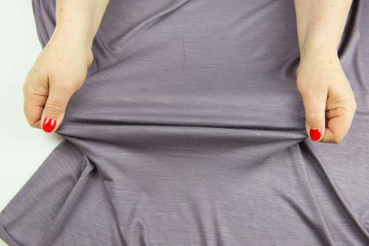 Stretch Fabric Characteristics Horizontal Stretch