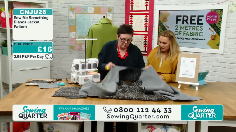 Sewing Quarter demo 17.10.18