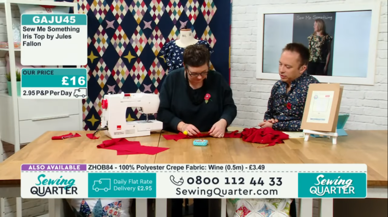 Sewing Quarter demo 07.11.18