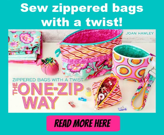 Zipper bags with a twist