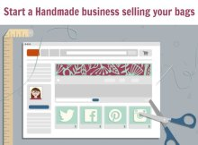 FREE online video class. 39 lessons - Start A Handmade Business. I really want to learn more about selling the things I sew and craft so I'm so excited to read about this class and how I can take it for free.