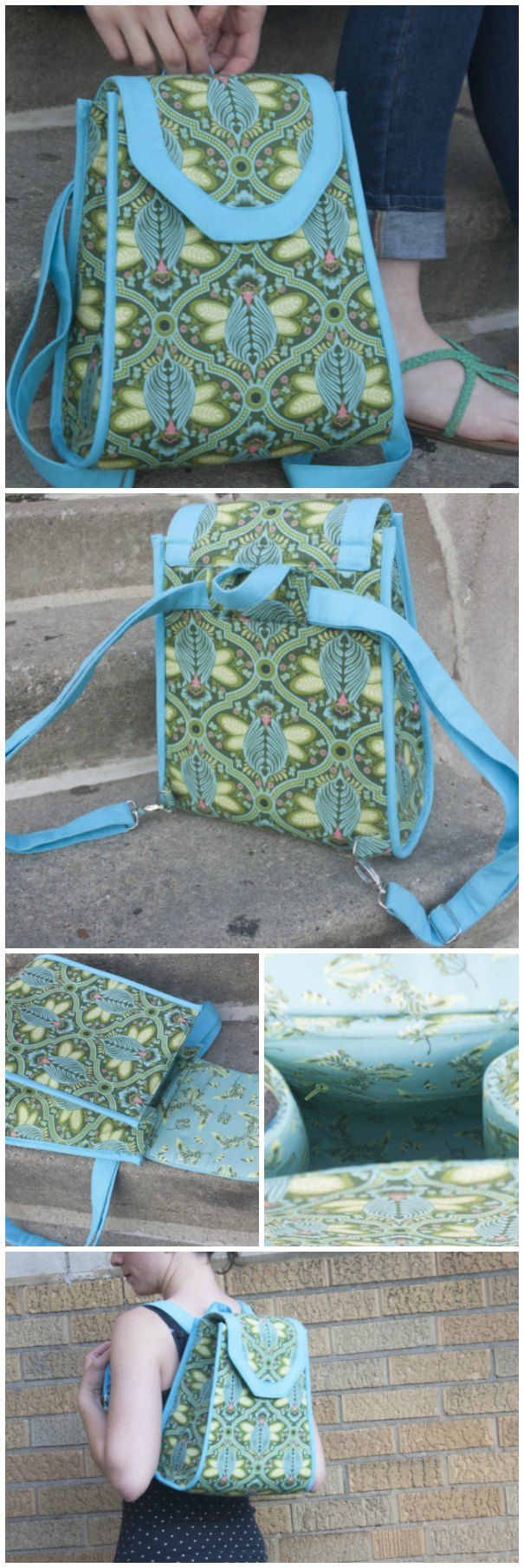Promise Ring Backpack Pattern Sew Modern Bags